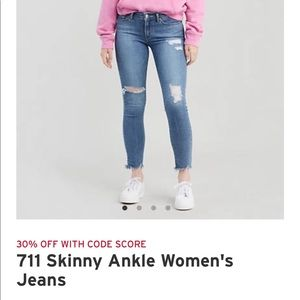 Levi's Jeans - 711 Skinny Ankle Women's Jeans